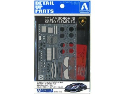 Detail up parts AOSHIMA AO01075 - Lamborghini Sesto Elemento (1:24)
