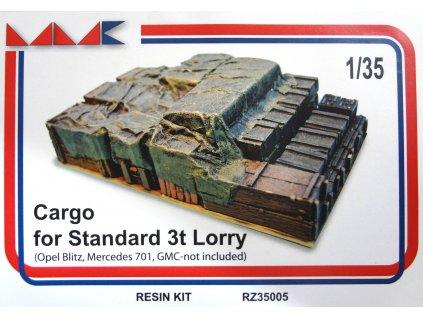 Resinový model doplnok MMK RZ35005 - CARGO BOXES (1:35)