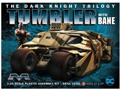 Model Kit auto MOEBIUS MOE967 - The Dark Knight Trilogy Tumbler with Bane (1:25)