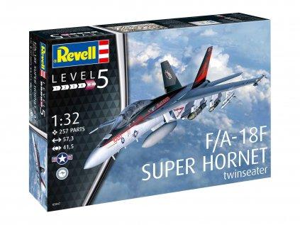 Plastový model lietadlo REVELL 03847 - F/A-18F Super Hornet (1:32)