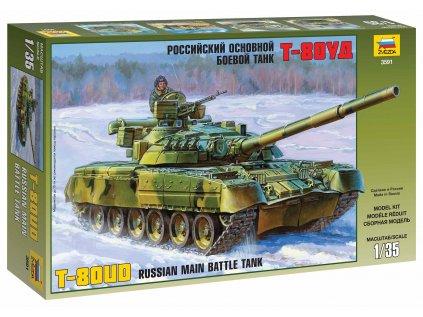 Model Kit tank ZVEZDA 3591 - Russian Main Battle Tank T-80UD (1:35)