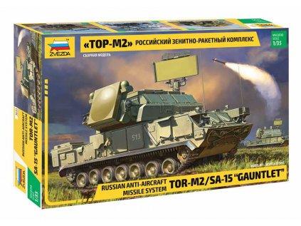 Model Kit tank ZVEZDA 3633 - Russ.TOR M2 Missile System (1:35)