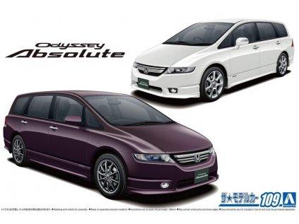 Model Kit auto Aoshima AO05738 - Honda Odyssey Absolute (1:24)