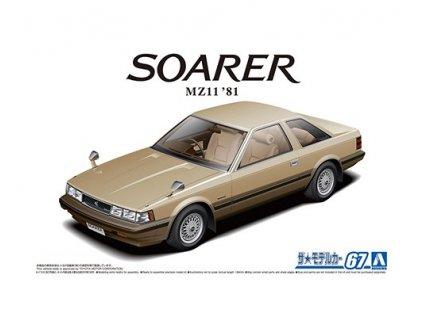 Model Kit auto Aoshima AO05847 - Toyota MZ11 Soarer 2800GT-EXTRA '81 (1:24)