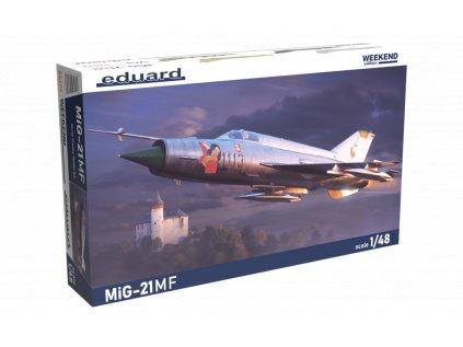 Plastový model lietadlo EDUARD 84177 - MiG-21MF 1/48