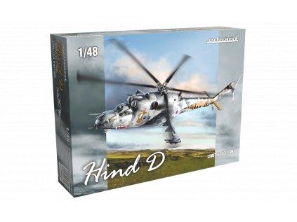 Plastový model vrtulník EDUARD 11150 - HIND D Mi-24D 1/48
