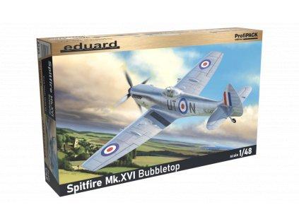 Plastový model lietadlo EDUARD 8285 - Spitfire Mk. XVI Bubbletop 1/48