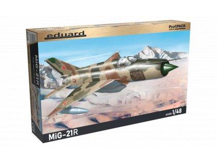 Plastový model lietadlo EDUARD 8238 - MiG-21R 1/48