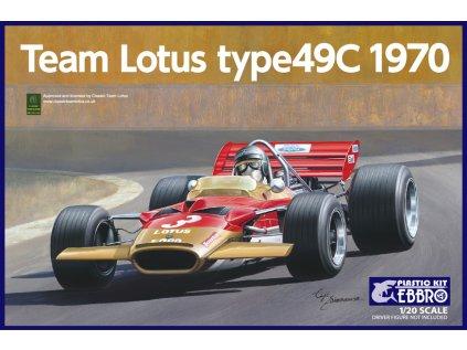 Model Kit formula EBBRO EBR20006 - Lotus 49C 1970 (1:20)
