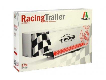 1604 model kit naves italeri 3936 racing trailer 1 24