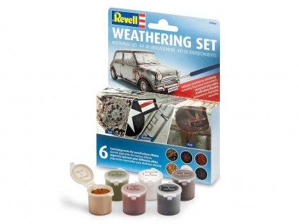 4181 weathering set revell 39066 sada pigmentov 6 druhu
