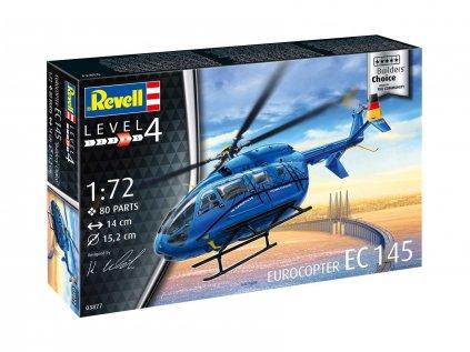 4637 plastovy model vrtulnik revell 03877 eurocopter ec 145 builder s choi 1 72