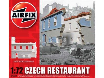 5165 plastovy model budova airfix a75016 czech restaurant 1 72