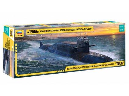 5216 model kit ponorka zvezda 9062 tula submarine delfin delta iv class 1 350
