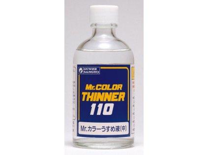 6866 mr color thinner gunze t102 riedidlo 110ml