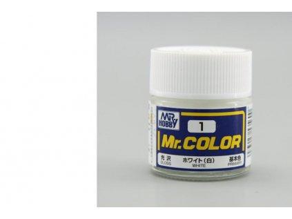 7121 mr color gunze c001 biela