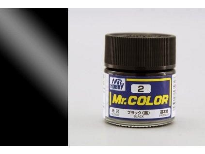 7124 mr color gunze c002 cierna