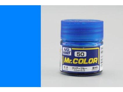 7475 mr color gunze c050 transparentna modra