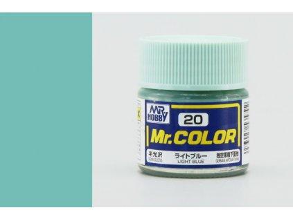 7505 mr color gunze c020 svetlo modra