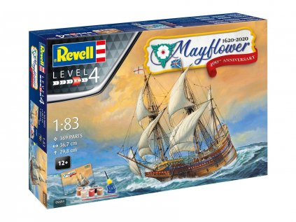 7598 darcekovy set lod revell 05684 mayflower 400th anniversary 1 83