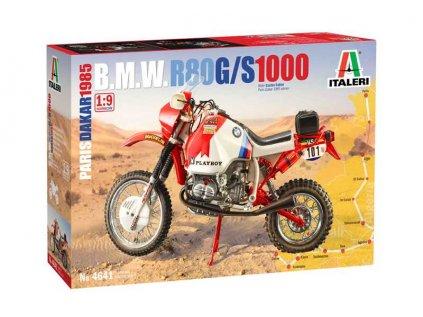 7904 model kit motorka italeri 4641 bmw 1000 dakar 1985 1 9
