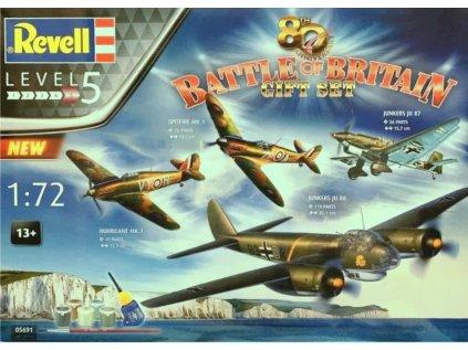 7922 darcekovy set lietadlo revell 05691 80th anniversary battle of britain 1 72