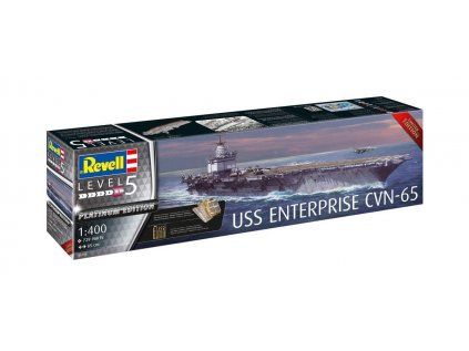 8024 plastovy model lod revell 05173 uss enterprise cvn 65 1 400