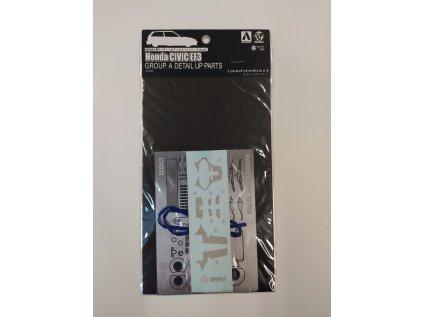 8498 detail up parts beemax e24005 honda civic ef3 1 24