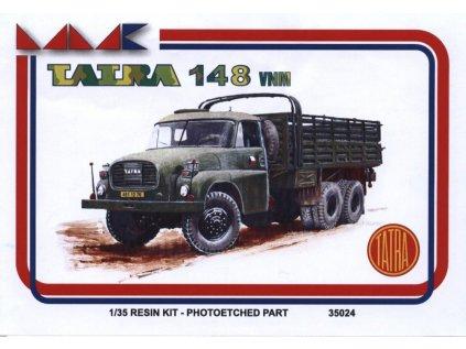 8744 resinovy model kamion mmk 35024 tatra 148 vn 1 35