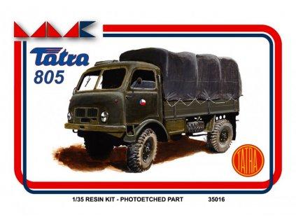 8747 resinovy model kamion mmk 35016 tatra 805 1 35