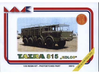 8750 resinovy model kamion mmk 35012 tatra 813 kolos 1 35