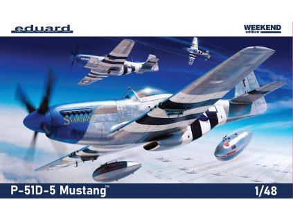 8756 plastovy model lietadlo eduard 84172 p 51d 5 1 48