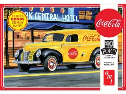 Plastový model auto AMT 1161 - Coca-Cola 1940 Ford Sedan Delivery (1:25)