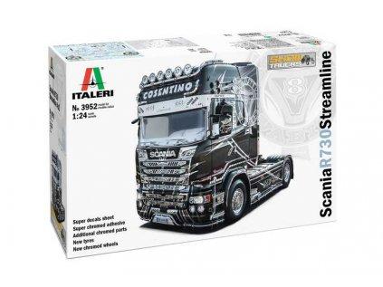 Model Kit truck ITALERI 3952 - Scania R 730 Streamline 4x2 Show Trucks (1:24)