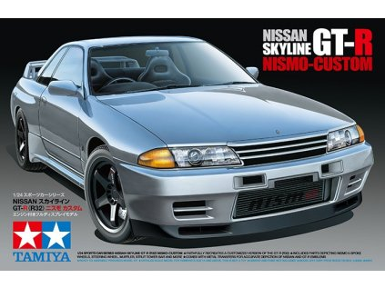 Model Kit auto TAMIYA 24341 - Nissan Skyline GT-R NiSMO Custom (1:24)