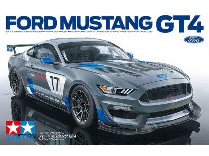 Model Kit auto TAMIYA 24354 - Ford Mustang GT4 (1:24)