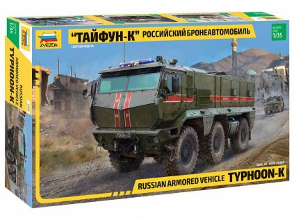 Model Kit military ZVEZDA 3701 - Typhoon-K 6X6 Armoured Vehicle (1:35)