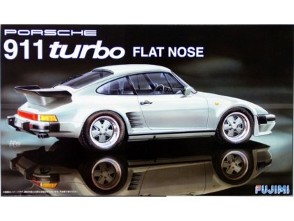 Model Kit auto FUJIMI FU12628 - Porsche 911 turbo Flat Nose (1:24)