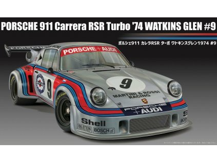 Model Kit auto FUJIMI FU12649 - Porsche 911 Carrera RSR Turbo Watkins Glen '74 #9 (1:24)