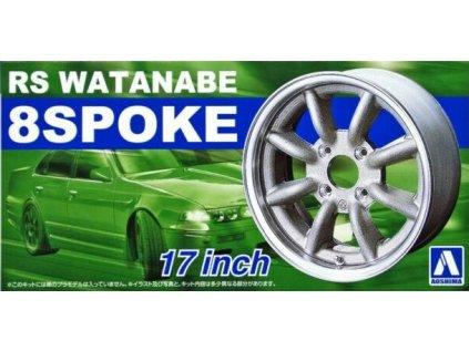 Disky AOSHIMA AO05243 - RS Watanabe 8 Spoke 17 inch (1:24)