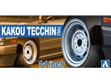 Disky AOSHIMA AO05468 - Kakou Tecchin Type -2 14 inch (1:24)