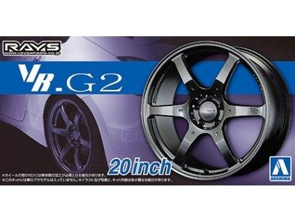 Disky AOSHIMA AO05517 - Volk Racing VR.G2 20 inch (1:24)