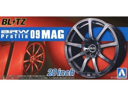 Disky AOSHIMA AO05518 - Blitz BRW Profile 09 Mag 20 inch (1:24)