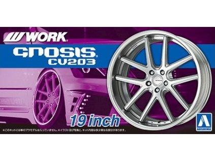 Disky AOSHIMA AO06116 - Work Gnosis CV203 19 inch (1:24)