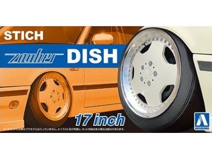 Disky AOSHIMA AO06117 - Stich Zauber Dish 17 inch (1:24)