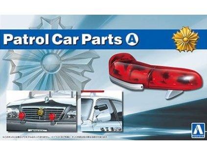 Doplnok AOSHIMA AO05974 - Patrol Car Parts A (1:24)