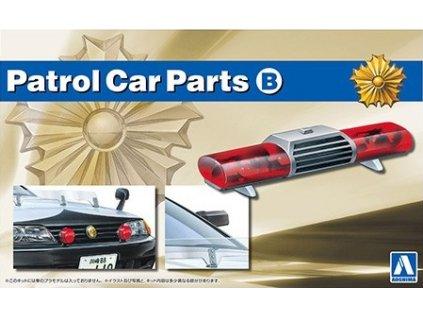 Doplnok AOSHIMA AO05975 - Patrol Car Parts B (1:24)