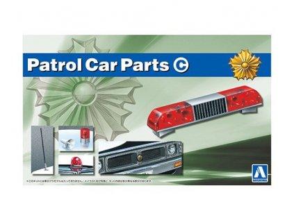 Doplnok AOSHIMA AO05976 - Patrol Car Parts C (1:24)