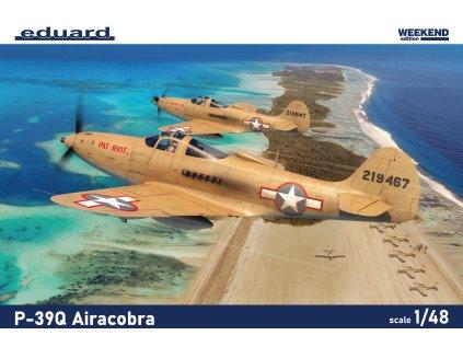Plastový model lietadlo EDUARD 8470 - P-39Q Airacobra 1/48