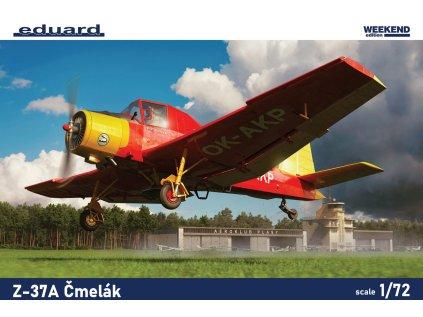 Plastový model lietadlo EDUARD 7456 - Z-37A Čmelák 1/72